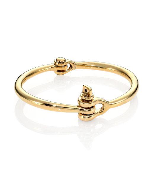 Miansai | Metallic Brass Reeve Bracelet | Lyst