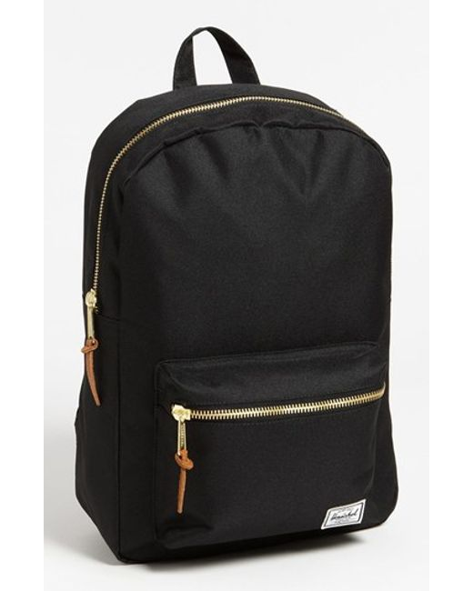 Herschel Supply Co. | Black 'settlement Mid Volume' Backpack | Lyst
