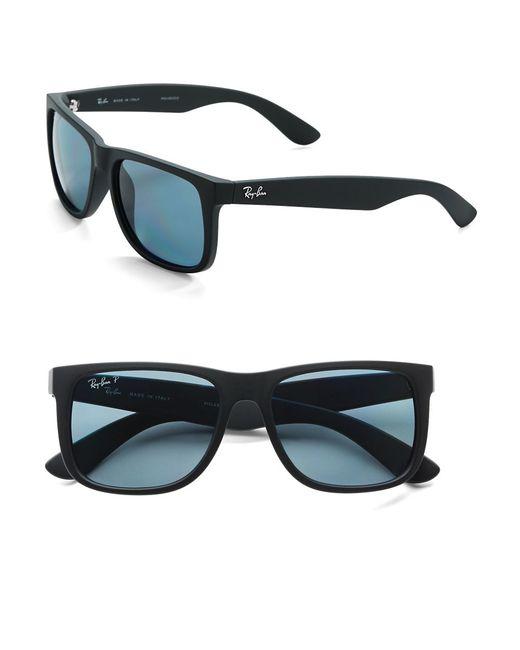ea5316b7b2 Ray-ban Justin 54mm Wayfarer Sunglasses in Black