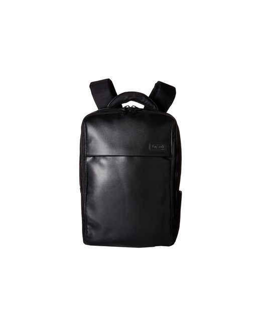 "Lipault | Black Premium Collection - 15"" Computer Backpack for Men 