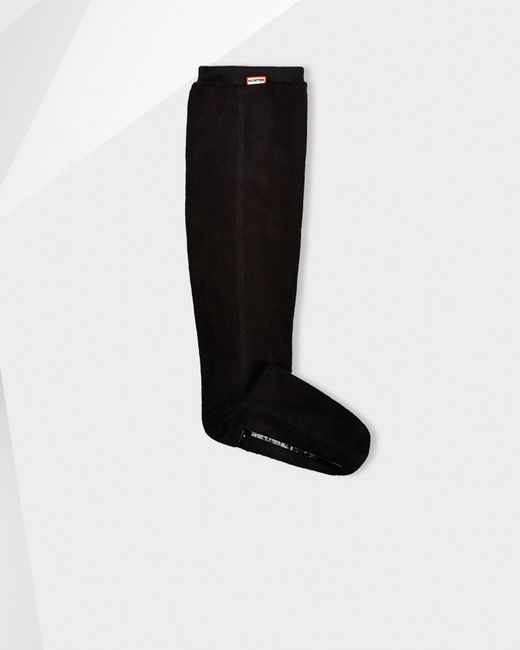Hunter | Black Fitted Boot Socks - Long | Lyst