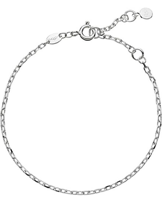 Links of London | Metallic Cable Sterling-silver Bracelet | Lyst