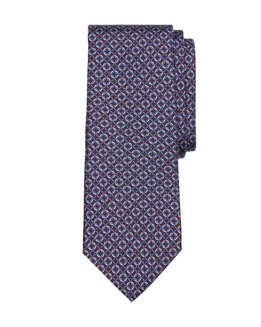 Brooks Brothers | Red Circle Link Print Tie for Men | Lyst