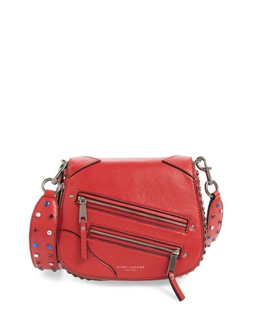 Marc jacobs 'small P.y.t.' Leather Saddle Crossbody Bag in ...