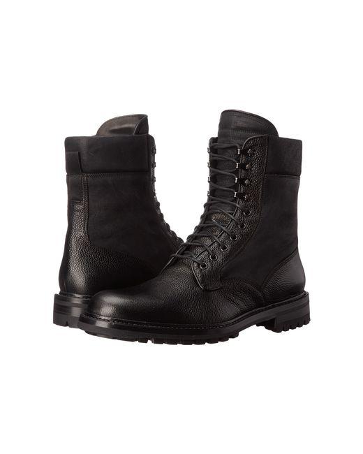 Rag & Bone | Black Spencer Commando Leather Boots for Men | Lyst