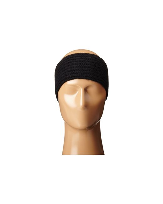 Hat Attack   Black Cashmere Headband   Lyst
