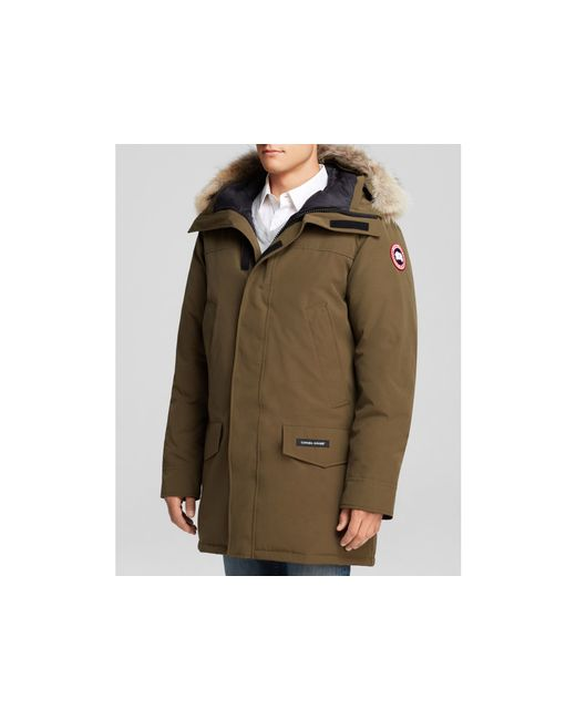 Canada Goose jackets replica store - Canada goose Langford Parka With Fur Hood in Brown for Men ...