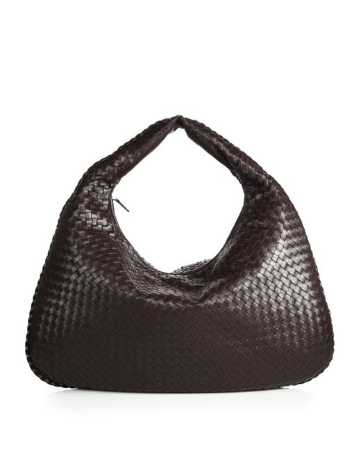 Bottega Veneta | Brown Veneta Large Hobo Bag | Lyst