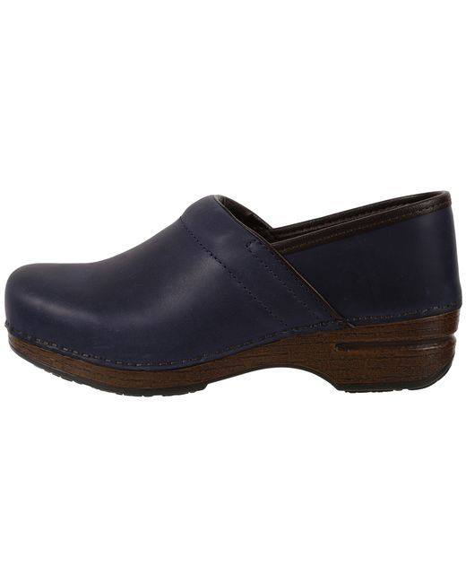 Dansko Pro Xp Waterproof In Blue Navy Oiled Lyst