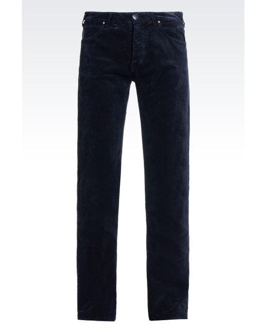 Armani Jeans | Blue Casual Pants for Men | Lyst