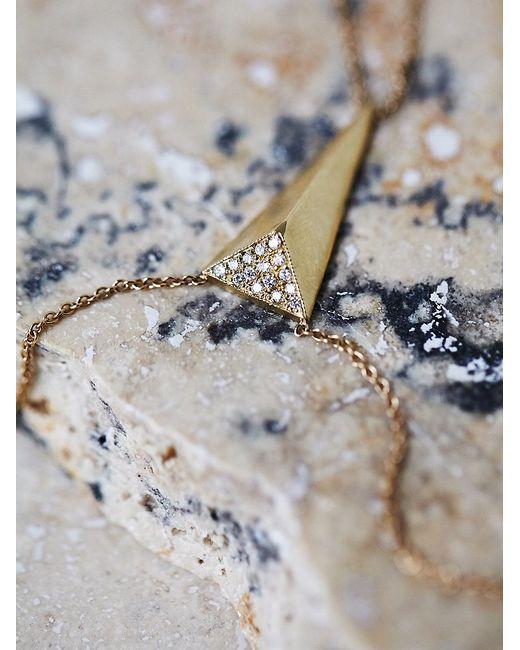 Free People | Metallic Diamond Triangle Handpiece | Lyst