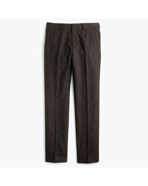 J.Crew   Brown Ludlow Suit Pant In English Donegal Wool for Men   Lyst