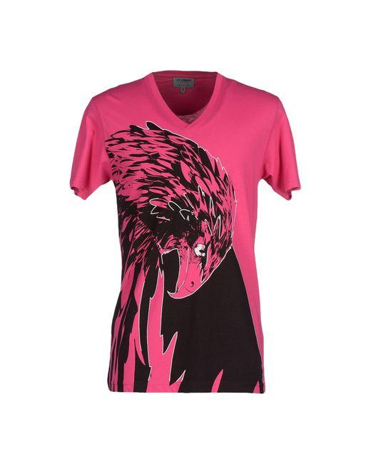 Les Hommes | Purple T-shirt for Men | Lyst