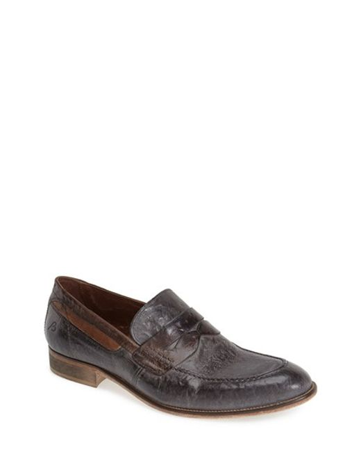 Bacco Bucci | Brown 'polari' Penny Loafer for Men | Lyst