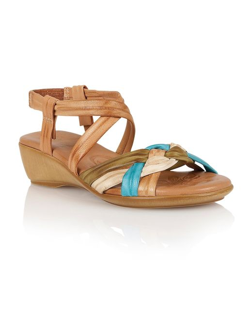 Lotus | Natural Luxa Open Toe Sandals | Lyst