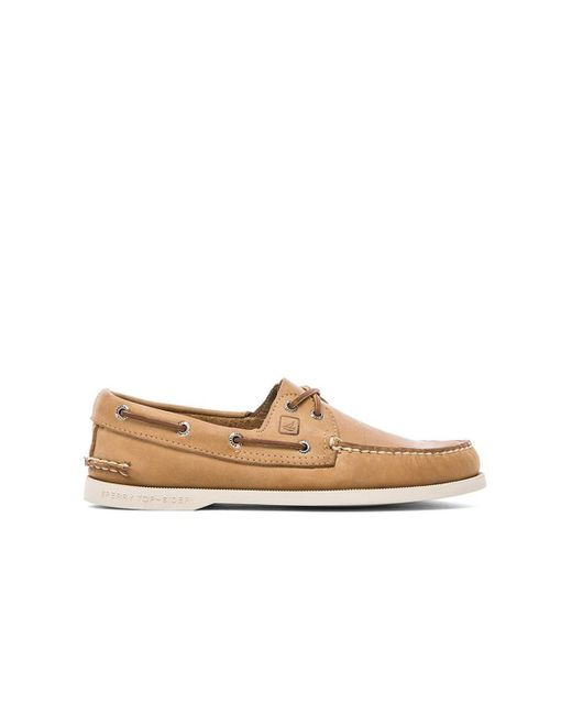 Sperry Top Sider Men S A O Boat Shoe Oatmeal