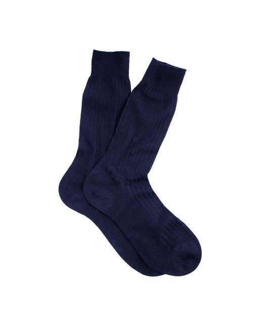 J.Crew   Blue Pantherella Merino Dress Socks for Men   Lyst
