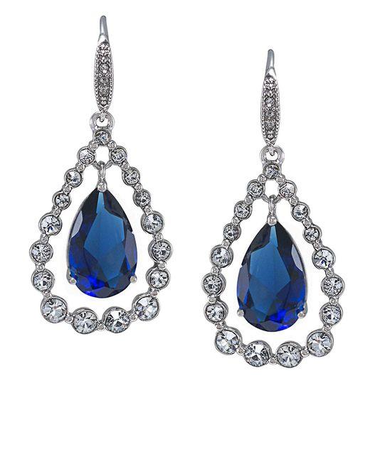 Carolee | Metallic Uptown Recolor Sapphire Drop Earrings | Lyst