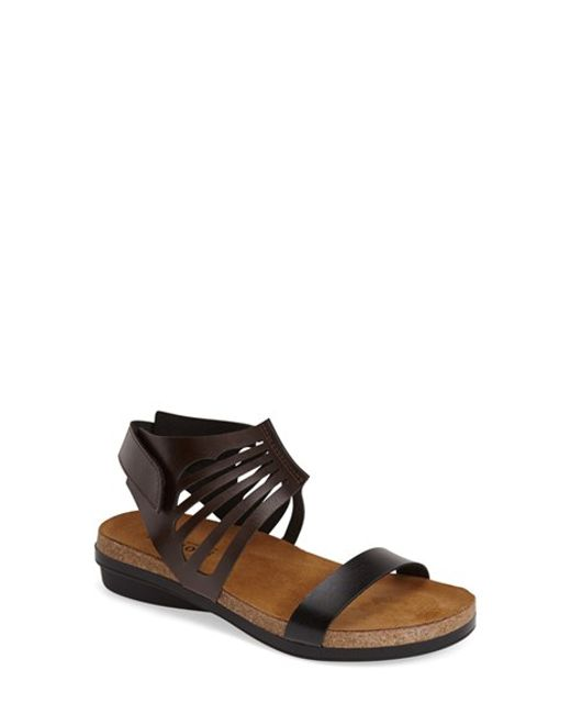 Naot | Brown 'mint' Sandal | Lyst