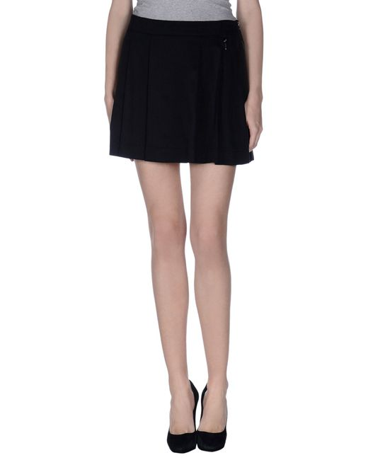 GAUDI | Black Mini Skirt | Lyst