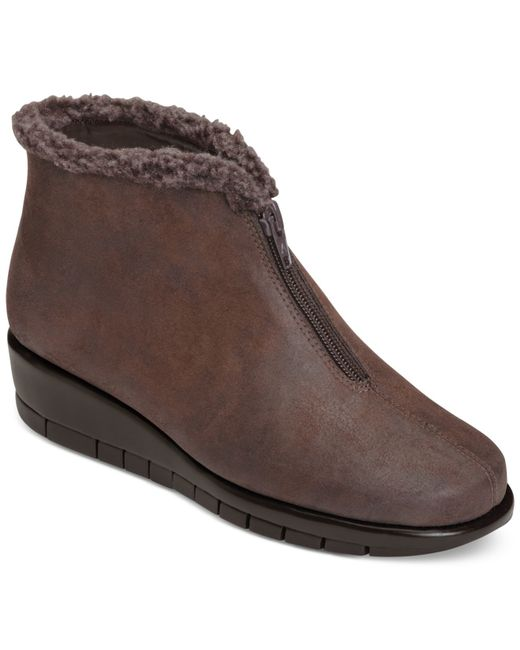 Aerosoles | Brown Nonchalant Cold Weather Booties | Lyst