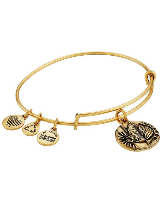ALEX AND ANI | Metallic Ruler Of The Woods - A New Day Birch Bangle | Lyst