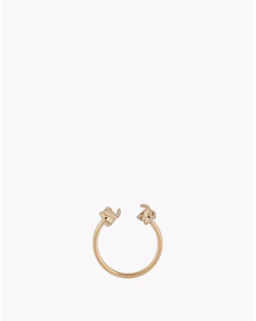 DSquared² | Metallic Babe Wire Ring | Lyst