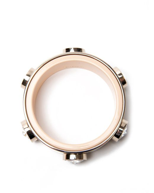 Givenchy | Metallic Jewelled Bangle | Lyst