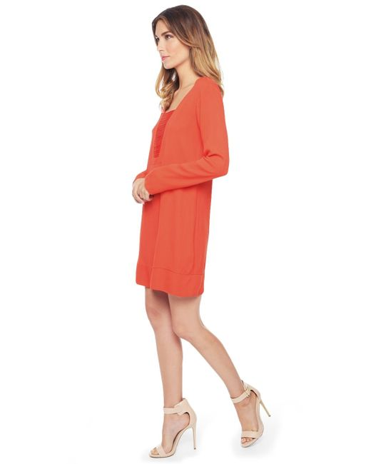Ella Moss | Red Stella Spaghetti Shift Dress | Lyst