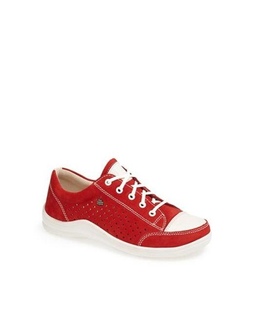 Finn Comfort | Red Sneaker | Lyst
