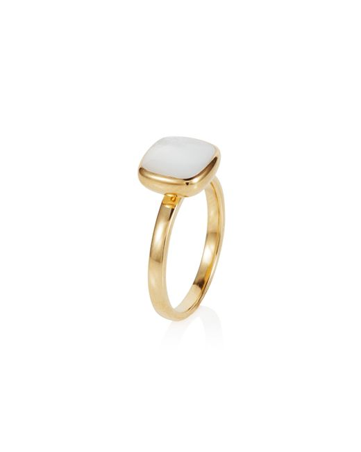 Caroline Creba | Metallic 18ct Gold Plated Sterling Silver 2.50ct Mother Of | Lyst