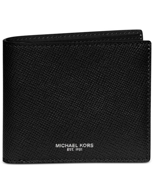 Michael Kors | Black Michael Men's Harrison Slim Billfold for Men | Lyst