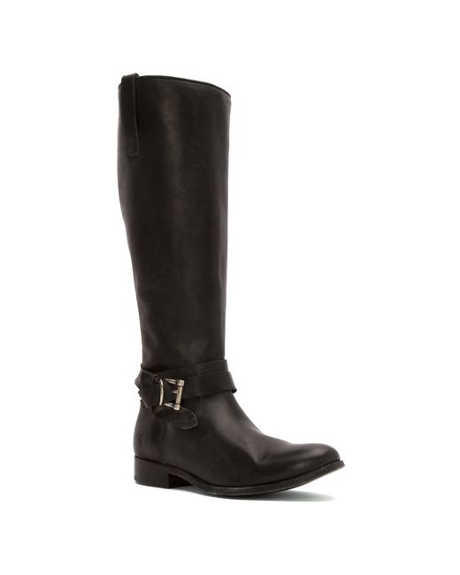 Frye | Black Ilana Pull On Boots | Lyst