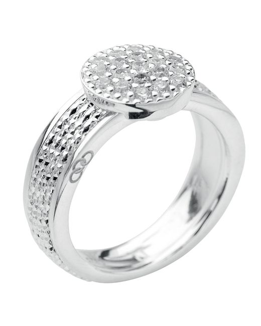 Links of London | Metallic Celeste Pave Ring | Lyst