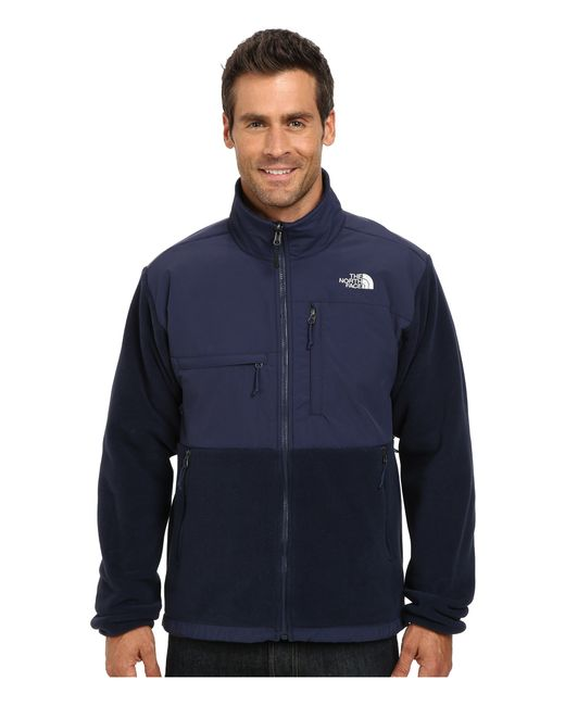 The North Face | Blue Denali Jacket for Men | Lyst