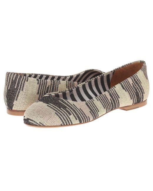 M Missoni | Metallic Lurex Spacedye Shoe | Lyst