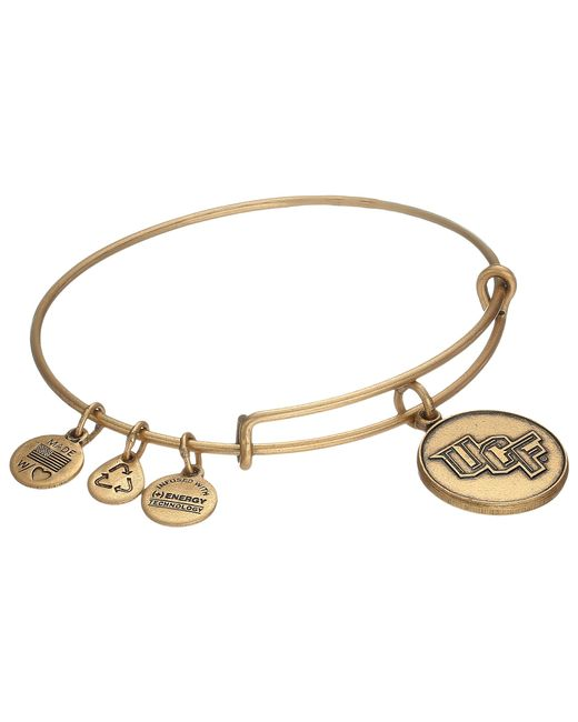 ALEX AND ANI | Metallic University Of Central Florida® Logo Charm Bangle | Lyst