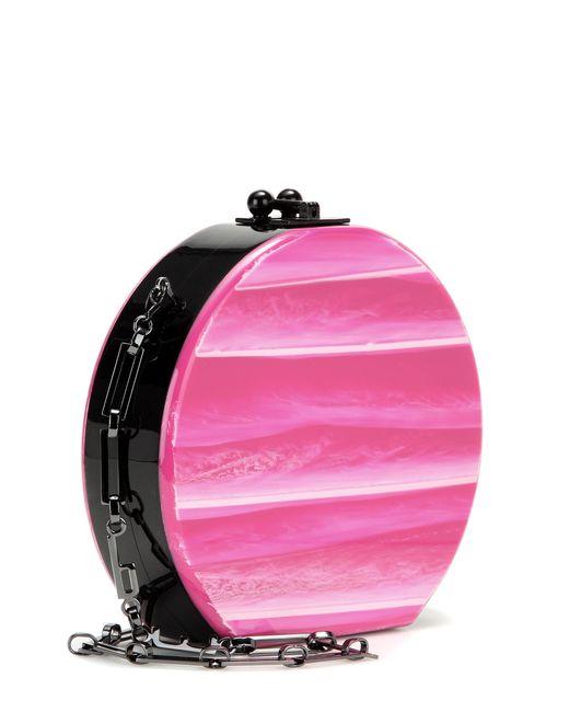 Edie Parker | Pink Mytheresa. Com Exclusive Oscar Tricolor Box Clutch | Lyst