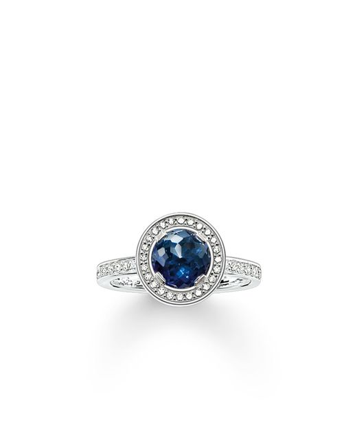 Thomas Sabo | Light Of Luna Blue Eternity Ring | Lyst