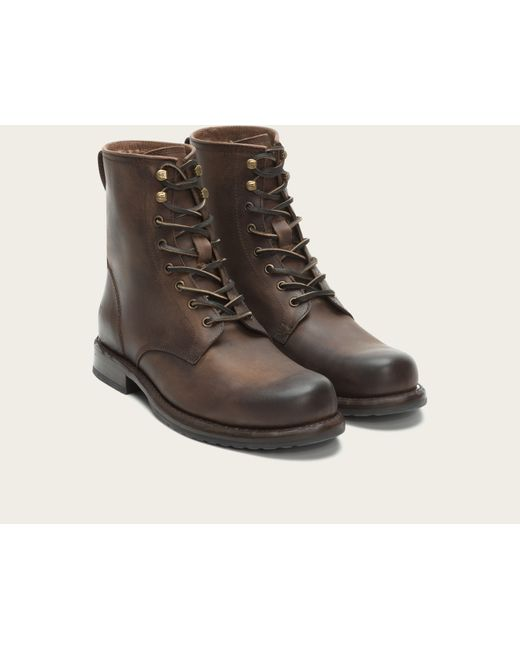Frye | Brown Wayde Combat for Men | Lyst