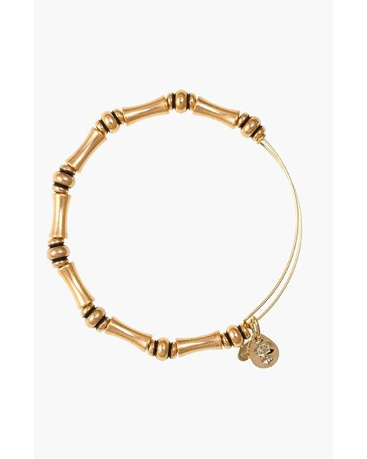 ALEX AND ANI | Metallic 'bamboo Motif' Expandable Wire Bracelet | Lyst