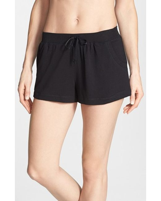 DKNY | Black 'city Essentials' Shorts | Lyst