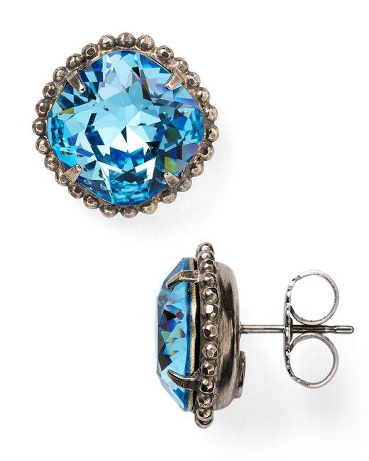 Sorrelli | Blue Stud Earrings | Lyst