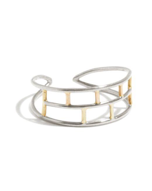 Melissa Joy Manning | Metallic Adjustable Layered Brick Ring | Lyst