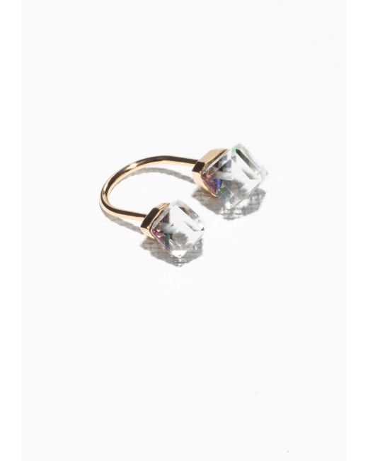 & Other Stories | Multicolor Open Diamond Ring | Lyst