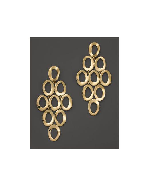 Ippolita | Metallic 18k Yellow Gold Open Cascade Earrings | Lyst