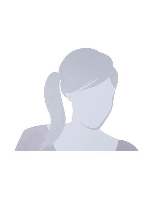 Lauren by Ralph Lauren | White 10mm Pearl Stud | Lyst