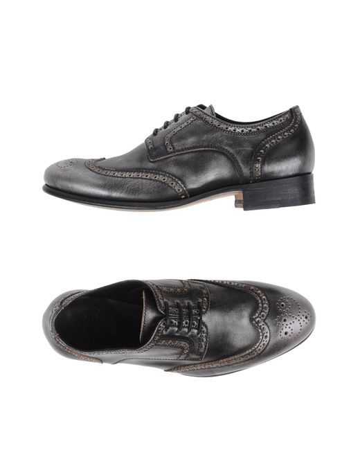 NDC | Gray Lace-up Shoes | Lyst