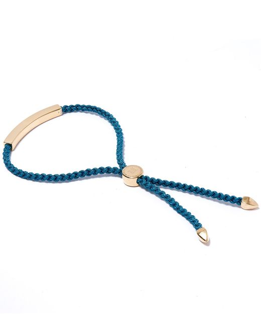 Monica Vinader | Metallic Linear 18ct Rose Gold-plated Friendship Bracelet | Lyst