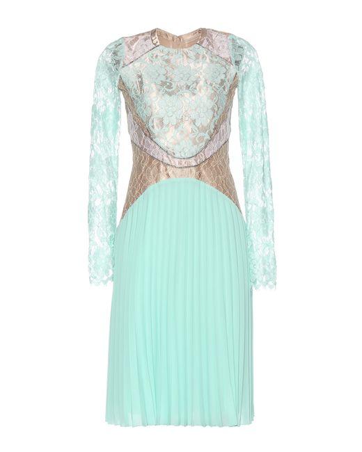 Christopher Kane | Green Lace Dress | Lyst